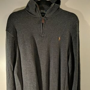 Polo Ralph Lauren Men Half Zip French Rib